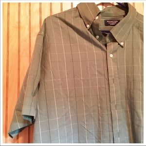 Roundtree & Yorke Shirts - Mens Button Down Dress Shirt